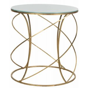 Iron Accent Table,  EAF2535