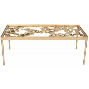Iron Leaf Coffee Table,  EAF2591