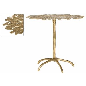 Metal Leaf Side Table,  EAF3250
