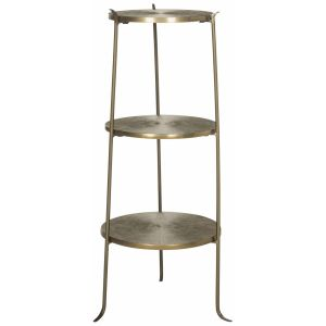 Metal 3-Tier Side Table,  EAF3251