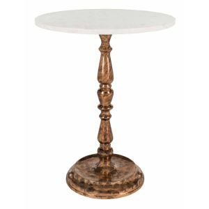 Transitional Marble Accent Table,  EAF5524
