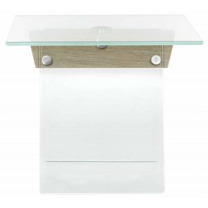 Glass Side Table,  EAF6021