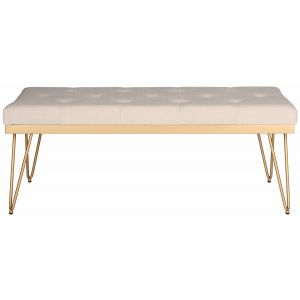 Linen Upholstered Bench,  EAF6224