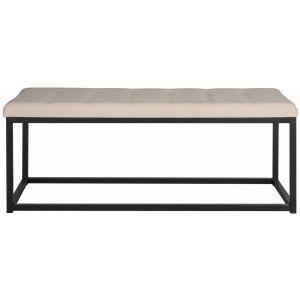 Linen Upholstered Bench,  EAF6225