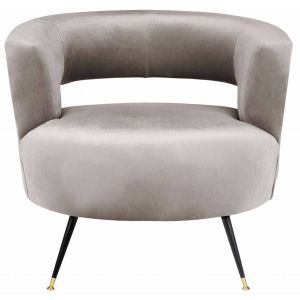 Velvet Accent Chair,  EAF6272
