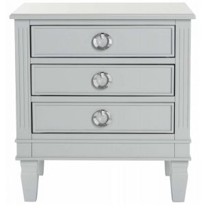 Contemporary 3-Drawer Night Stand,  EAF6276