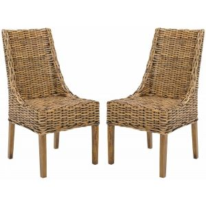 Rattan Accent Chair ( Set of 2 ),  EAF6503
