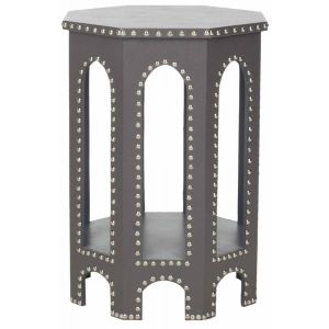 Nail Head Trim End Table,  EAF9501