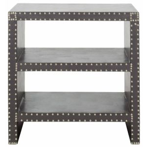 Nail Head Trim Side Table,  EAF9502