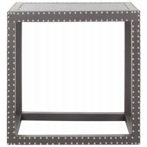Nail Head Trim End Table,  EAF9503