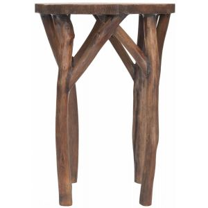 Wooden Round End Table,  EUH4607