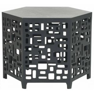 Hexagon End Table,  EUH4612