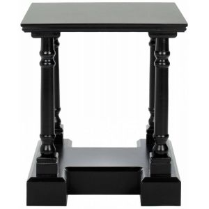 Polished Wooden End Table,  EUH5707