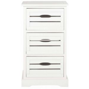 Wooden 3-Drawer Cabinet,  EUH5713