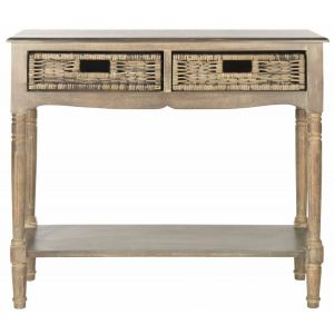 Woven Basket Console Table,  EUH5716