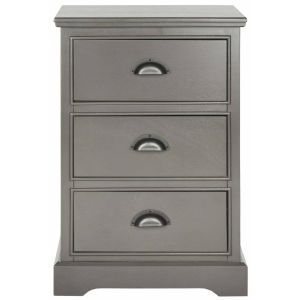 Wooden 3-Drawer Storage Side Table,  EUH5717