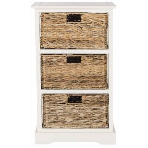 Wicker Basket Storage Side Table,  EUH5738