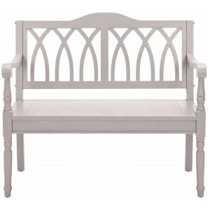 Wooden Bench, EUH6500C in Quartz Grey