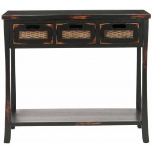 Wooden 3-Drawer Console Table,  EUH6510