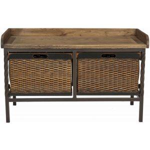 Wooden Storage Bench,  EUH6528