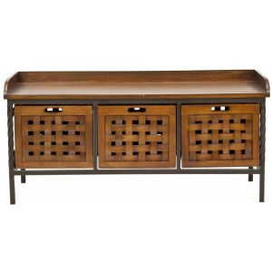 Wooden Storage Bench,  EUH6530
