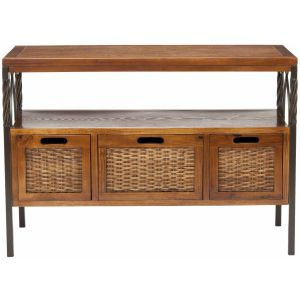 Wooden Storage Console Table,  EUH6532
