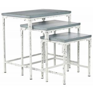 Distressed Nesting Table,  EUH6550