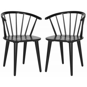 Modern Curved Side Chair ( Set of 2 ),  EUH8512