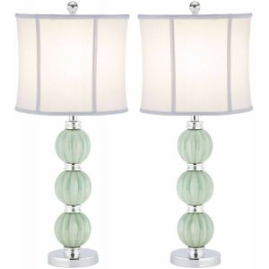 Elegant Crystal Table Lamp ( Set of 2 ),  EUL4099 ( EU PLUG )