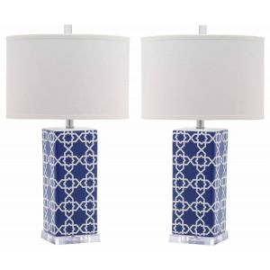 Ceramic Table Lamp ( Set of 2 ),  EUL4134 ( EU PLUG )
