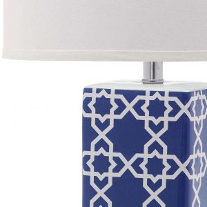 Transitional Crystal Table Lamp,  UKL4120 ( UK PLUG )