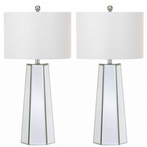 Leather Table Lamp ( Set of 2 ),  EUL4402 ( EU PLUG )