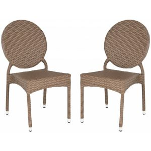 Rattan Side Chair ( Set of 2 ),  EUO5204