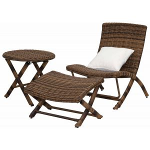 Alfresco Living 3-Piece Lounge Chair Set,  EUP2507