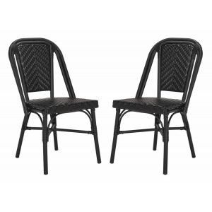 French-Inspired Indoor/Outdoor Bistro Side Chair ( Set of 2 ),  EUP4013