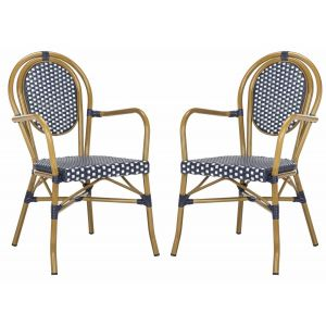 French-Inspired Indoor/Outdoor Bistro Arm Chair ( Set of 2 ),  EUP4014