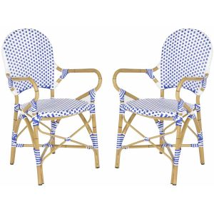 French-Inspired Indoor/Outdoor Bistro Arm Chair ( Set of 2 ),  EUP5209
