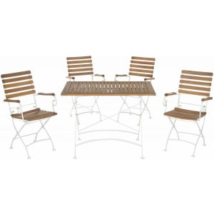 Wooden Outdoor 5-Piece Dining Set,  EUP6709