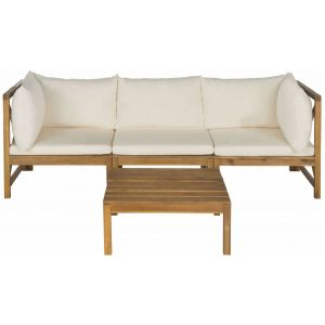 Wooden Indoor/Outdoor Sectional & Table,  EUP6713