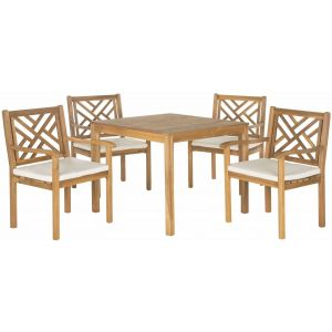 Wooden Outdoor 5-Piece Living Set,  EUP6720
