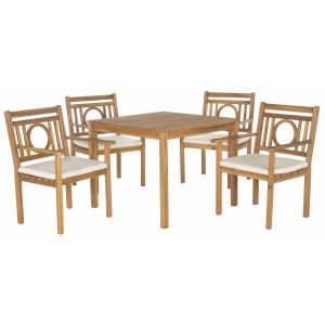 Wooden Outdoor 5-Piece Living Set,  EUP6721