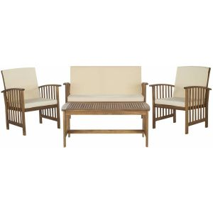 Wooden Outdoor 4-Piece Dining Set,  EUP7007