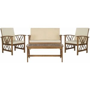 Wooden Outdoor 4-Piece Dining Set,  EUP7008
