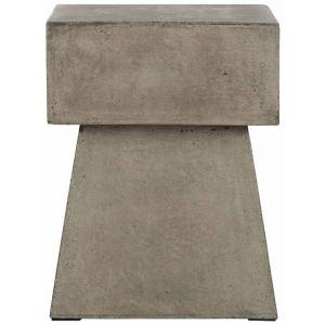 Modern Indoor/Outdoor Concrete Stool,  EVN1000