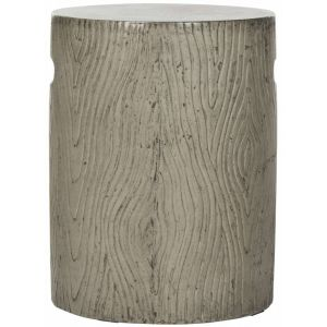 Modern Indoor/Outdoor Concrete Stool,  EVN1004