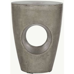 Modern Indoor/Outdoor Concrete Stool,  EVN1007