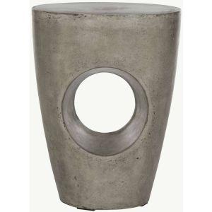 Modern Indoor/Outdoor Concrete Stool,  EVN1007