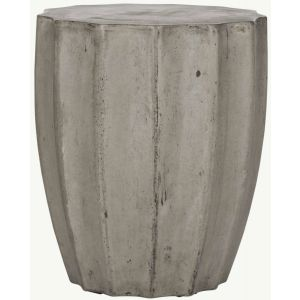 Modern Indoor/Outdoor Concrete Stool,  EVN1010