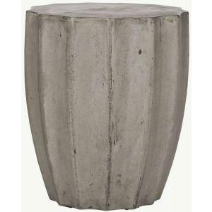 Modern Indoor/Outdoor Concrete Stool,  EVN1010
