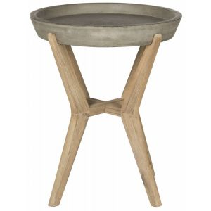 Modern Concrete End Table,  EVN1012